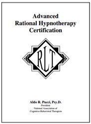 Advanced Rational Hypnotherapy Certification Home Study Program hypnotherapy, certification, hypnotherapy certification
